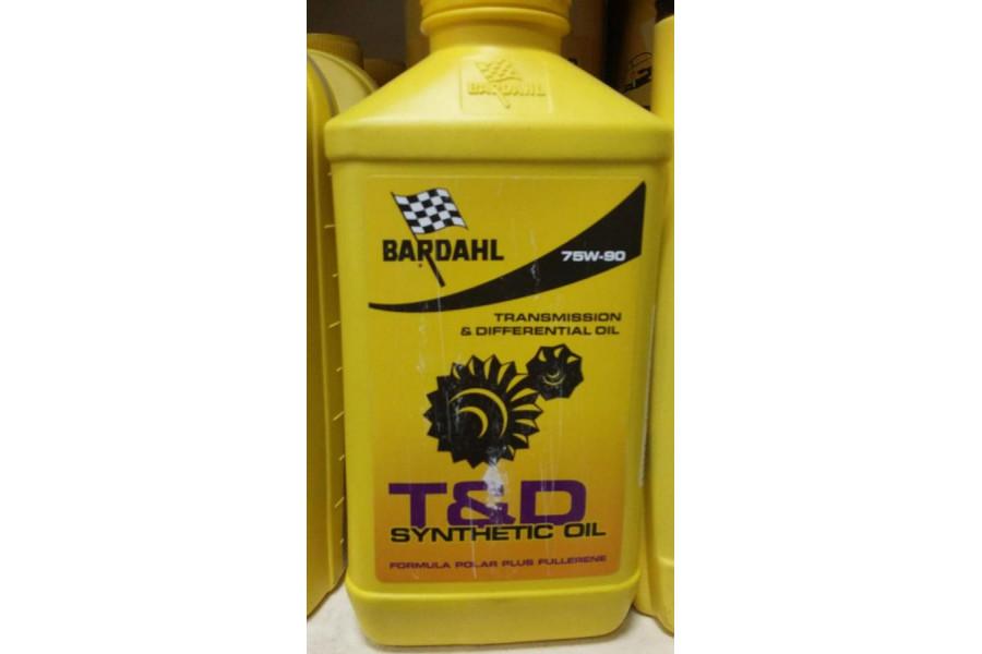 Моторные масла Bardahl 75W90
