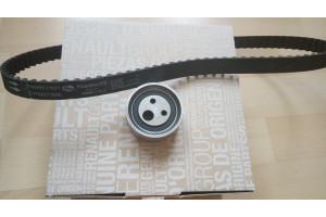 Ремкомплект ГРМ (ремень+ролик) RENAULT 7701477024