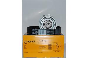 Ремкомплект ГРМ (ремень+ролик) CT908K1